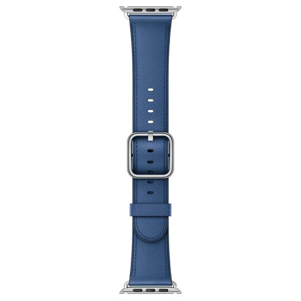 Ремешок Apple 38mm Sapphire Classic Buckle (MPWJ2ZM/A) умные часы apple watch series 3 38mm grey space with black sport band mqkv2ru a