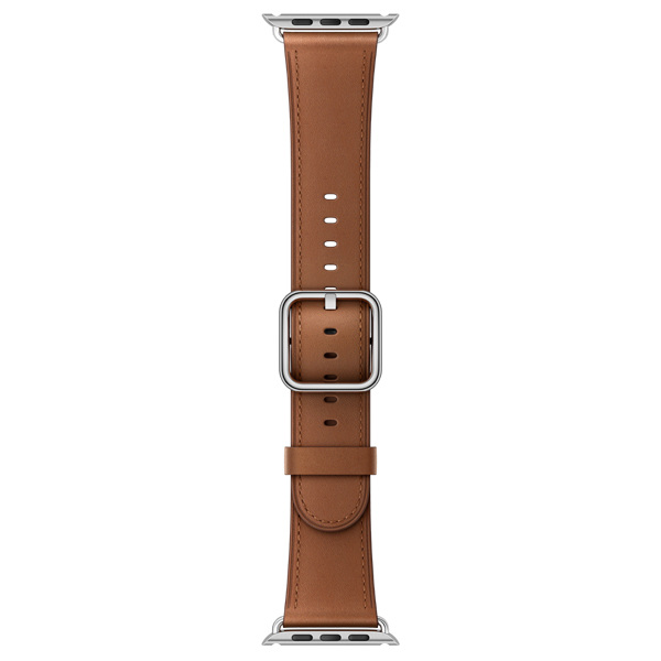 Ремешок Apple 42mm Saddle Brown Classic Buckle (MPWT2ZM/A) kakapi classic buckle genuine leather wrist band for apple watch 42mm series 1 series 2 black