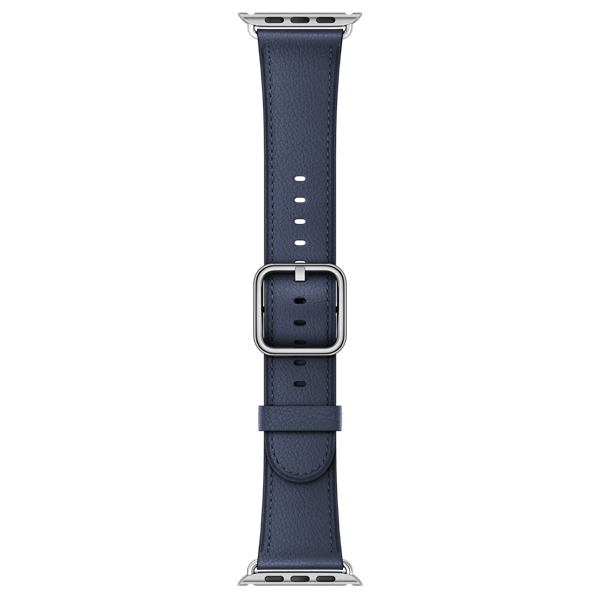 Ремешок Apple 42mm Midnight Blue Classic Buckle (MPWV2ZM/A) ремешок apple 42mm midnight blue sport band s m