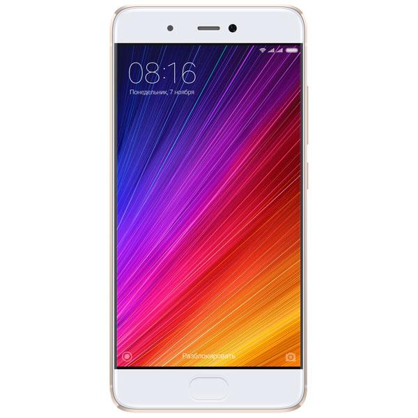 Смартфон Xiaomi Mi 5S 64Gb Gold xiaomi mi 5s pochti kak mi 5
