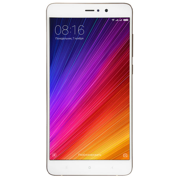 Смартфон Xiaomi Mi 5S Plus 64Gb Gold телефон xiaomi mi5s plus 64gb золотой
