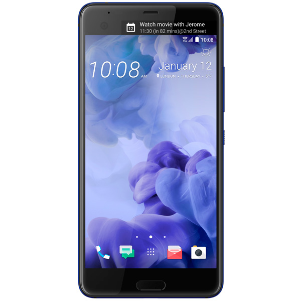 Смартфон HTC U Ultra 64Gb Sapphire Blue смартфон htc u play 32gb brilliant black черный 99halv044 00