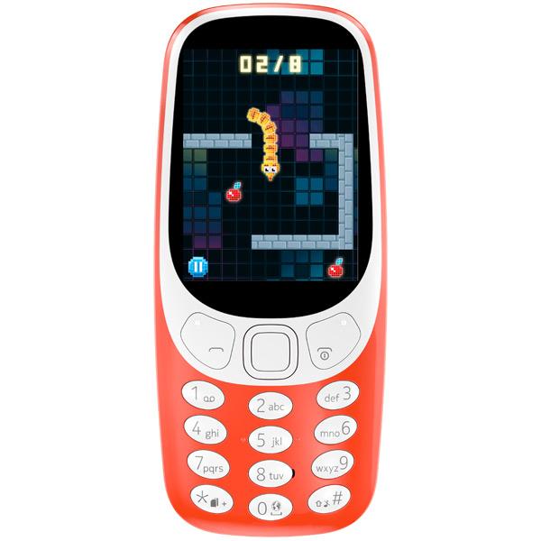 Мобильный телефон Nokia 3310 Red мобильный телефон nokia 3310 ds red