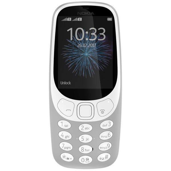 Мобильный телефон Nokia 3310 Gray зу partner nokia 3310