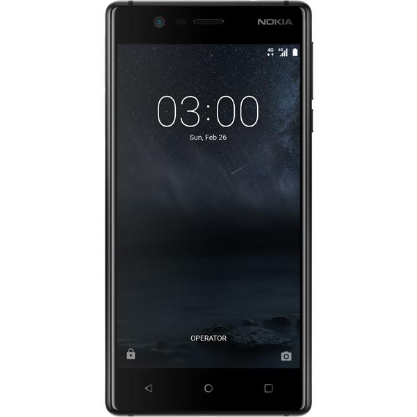 Купить Смартфон Nokia 3 Black в каталоге интернет магазина М.Видео ... cf674c4af44