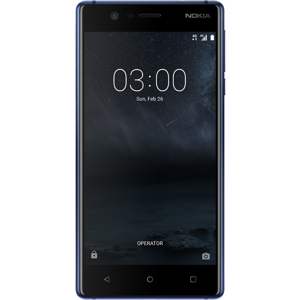 Смартфон Nokia 3 Tempered Blue nokia 5