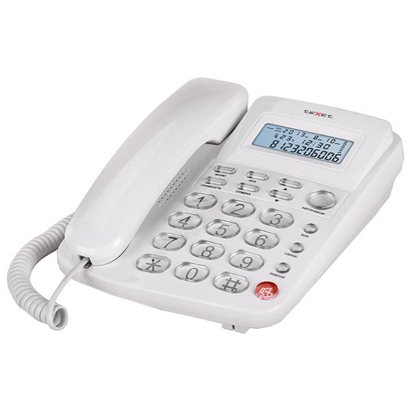 Телефон проводной teXet TX-250