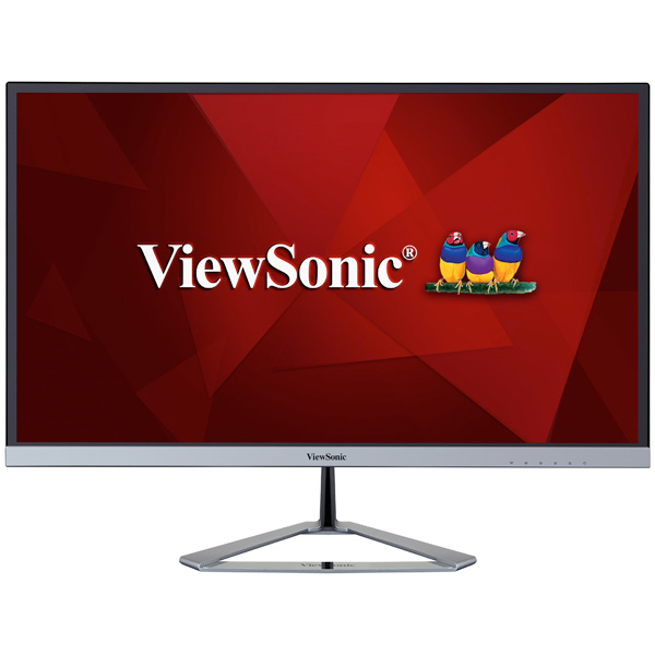 Монитор ViewSonic VX2476-SMHD монитор 27 viewsonic vx2778 smhd черный серебристый pls 2560x1440 350 cd m^2 5 ms g t g hdmi vga displayport аудио