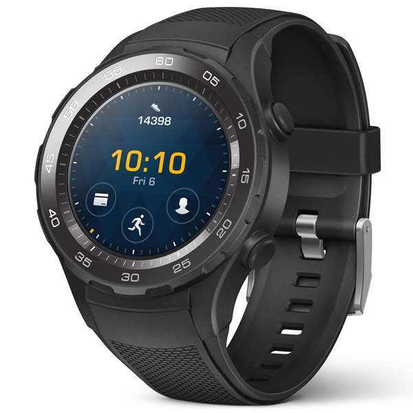 Смарт-часы Huawei WATCH 2 Sport Bluetooth Black (LEO-BX9 )