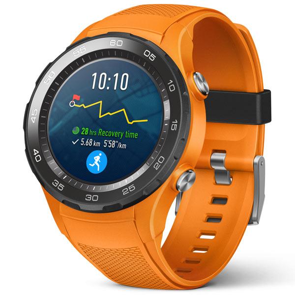 Huawei, Смарт-часы, WATCH 2 Sport LTE Orange (LEO-DLXX)