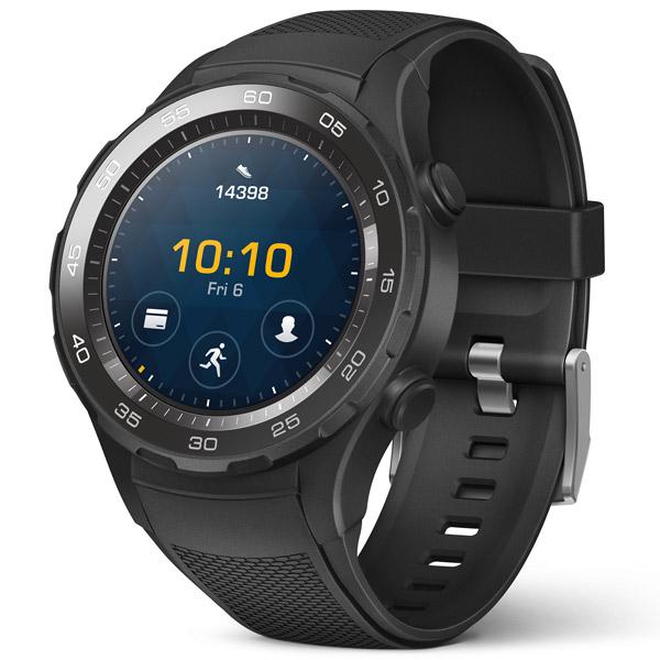Huawei, Смарт-часы, WATCH 2 Sport LTE Black (LEO-DLXX)