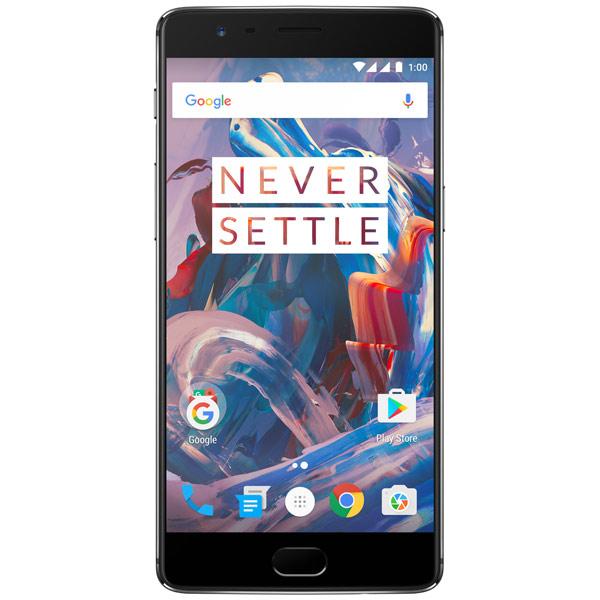 Смартфон OnePlus 3T 64Gb+6Gb Gunmetal смартфон oneplus 3t 64gb gunmetal