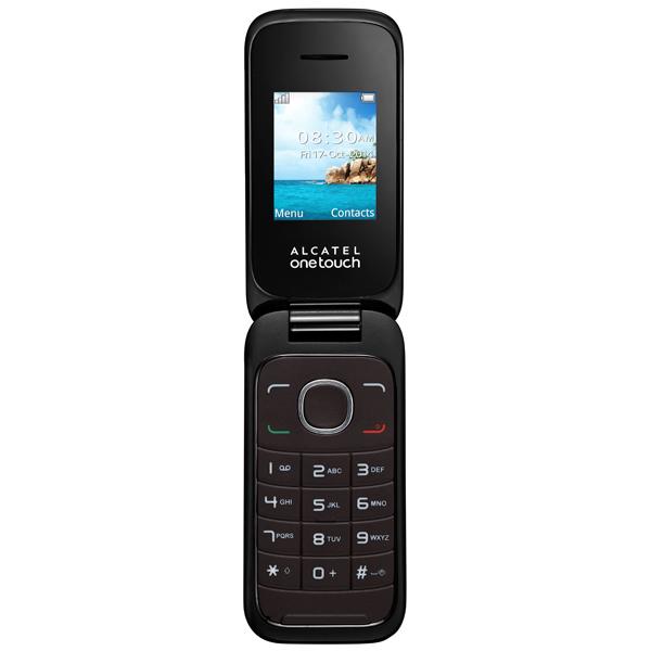 Мобильный телефон Alcatel OT1035D (2SIM) Dark Chocolate мобильный телефон alcatel ot1020d 2sim pure white