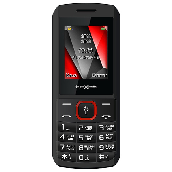 teXet, Мобильный телефон, TM-127