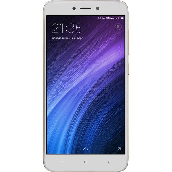 Смартфон Xiaomi Redmi 4X 32Gb Gold смартфон xiaomi redmi pro 32gb silver