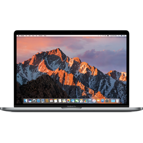 Ноутбук Apple MacBook Pro 15 Touch Bar i7 2.9/16/512 MPTT2RU/A finedesign touch серый