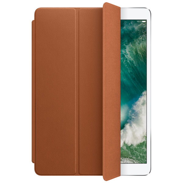 Кейс для iPad Pro Apple Leather Smart iPad Pro 10.5 Saddle Brown leather smart cover for 10 5 inch ipad pro red