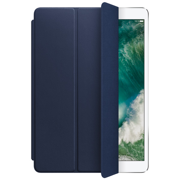 Кейс для iPad Pro Apple Leather Smart iPad Pro 10.5 Midnight Blue leather smart cover for 10 5 inch ipad pro red