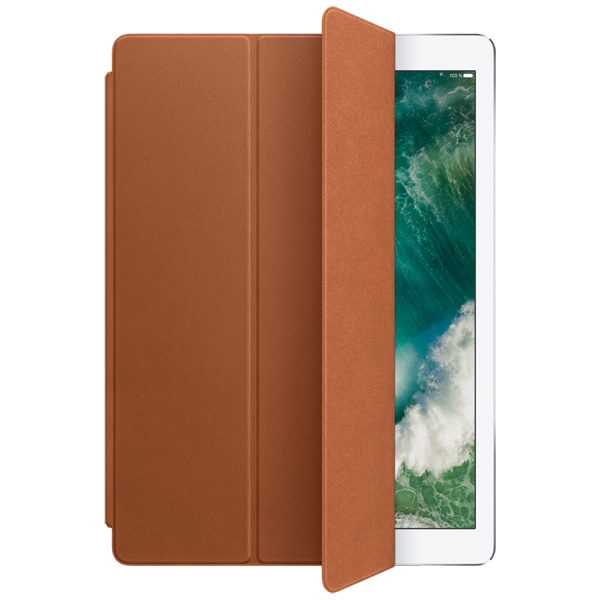Кейс для iPad Pro Apple Leather Smart iPad Pro 12.9 Saddle Brown leather smart cover for 10 5 inch ipad pro red