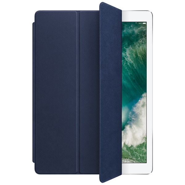 Кейс для iPad Pro Apple Leather Smart iPad Pro 12.9 Midnight Blue leather smart cover for 10 5 inch ipad pro red