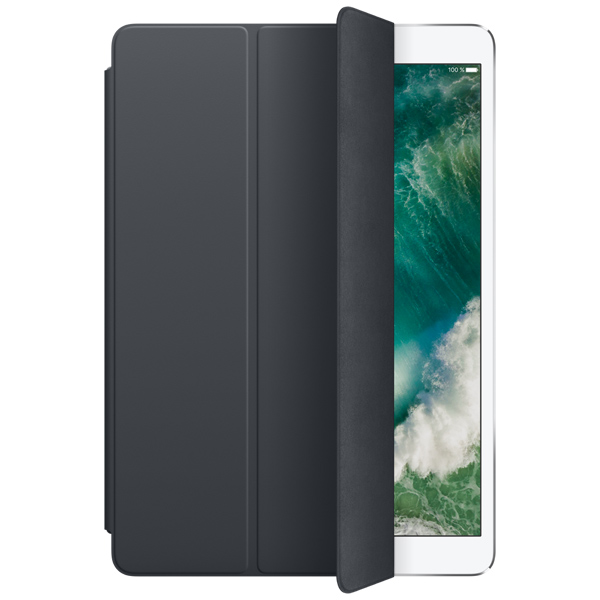 Кейс для iPad Pro Apple Smart Cover iPad Pro 10.5 Charcoal Gray MQ082ZM/A ноутбук msi gp72m 7rdx 1017ru core i7 7700hq 8gb 1tb 128gb ssd nv gtx1050 4gb 17 3 fullhd win10 black