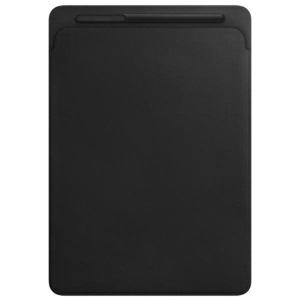 Кейс для iPad Pro Apple Leather Sleeve iPad Pro 12.9 Black (MQ0U2ZM/A) uniq duo для apple ipad 2 black