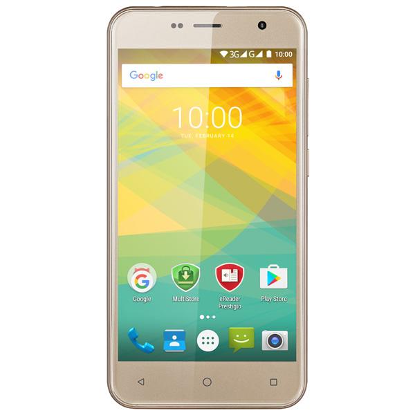 Смартфон Prestigio Muze B3 Duo Gold (PSP3512) планшет prestigio muze 3708 3g pmt3708
