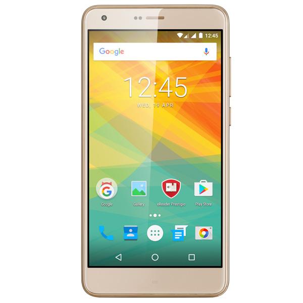 Смартфон Prestigio Grace S7 Duo LTE Gold (PSP7551) смартфон prestigio grace z5 серебристый 5 3
