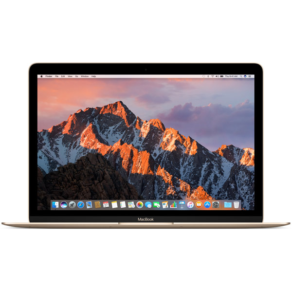 Ноутбук Apple MacBook 12 Core m3 1,2/16/256 SSD Gold ноутбук prestigio smartbook 133s psb133s01zfp dg cis