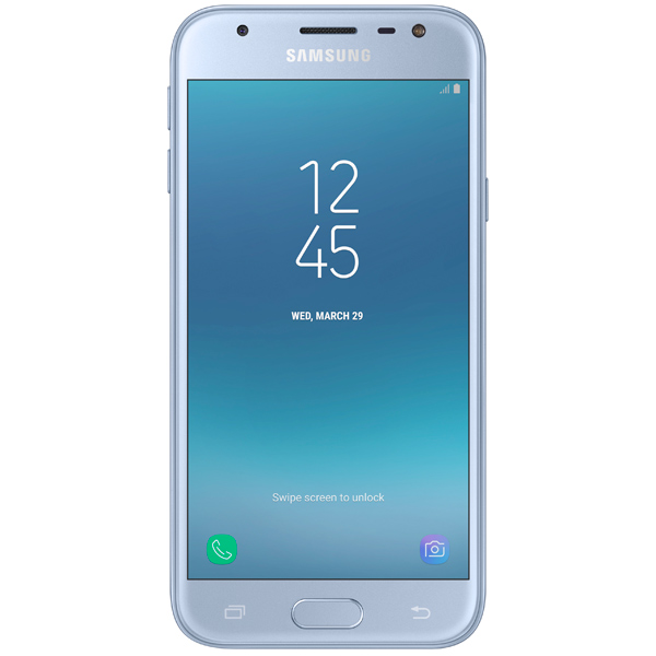 Смартфон Samsung Galaxy J3 (2017) DS Blue (SM-J330F) смартфон samsung galaxy j7 neo sm j701f ds silver