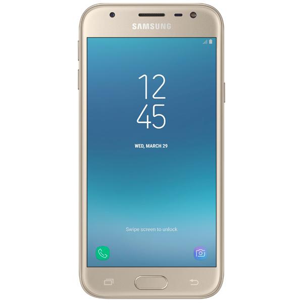 Смартфон Samsung Galaxy J3 (2017) Gold (SM-J330F) смартфон samsung galaxy j7 2016 sm j710fn gold