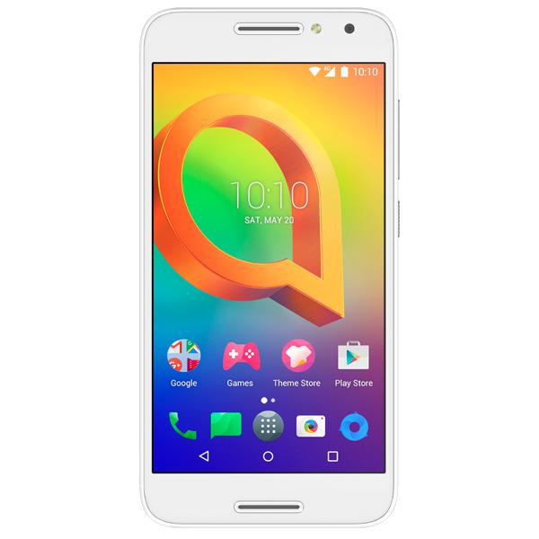 Смартфон Alcatel A3 DS Pure White (5046D) радиотелефон panasonic kx tgc310 ru1 black