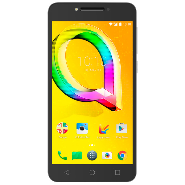Смартфон Alcatel A5 LED DS Metallic Silver (5085D) смартфон alcatel idol 5 4g ds metal blackb 6058d