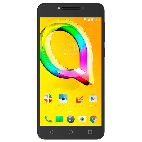 Смартфон Alcatel A5 LED DS Metallic Black (5085D) смартфон alcatel idol 5 4g ds metal blackb 6058d