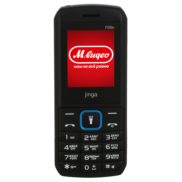 Мобильный телефон Jinga Simple F200n Black/Blue