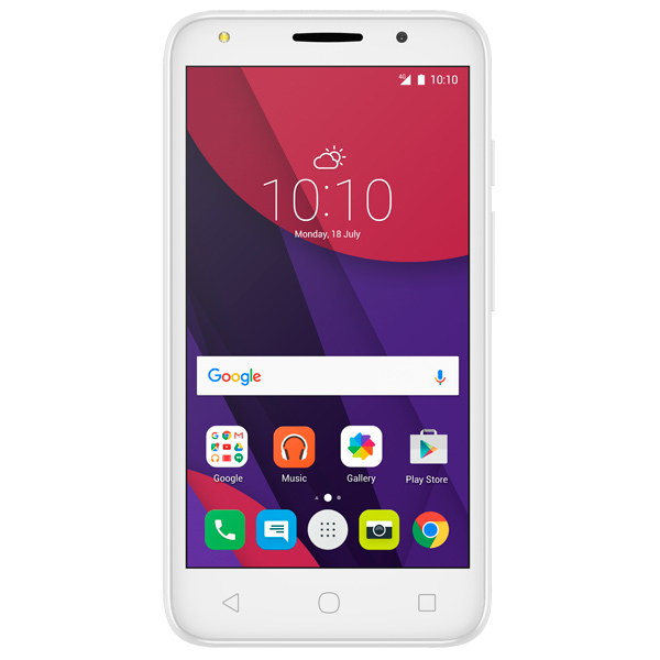 Смартфон Alcatel PIXI 4 DS Vivid Green (5045D) смартфон alcatel pixi 4 ds full white 5045d