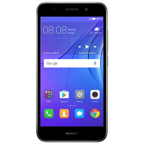 Смартфон Huawei Y3 2017 Gray (CRO-U00) смартфон huawei y5 2017 gray