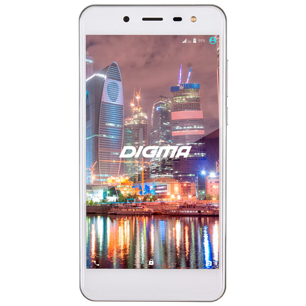 Смартфон Digma VOX Flash 4G 8Gb White digma vox flash 4g