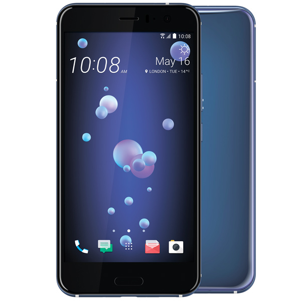 Смартфон HTC U11 128Gb Amazing Silver смартфон htc u ultra brilliant black 128gb android 7 0 nougat msm8996 2150mhz 5 7 2560х1440 4096mb 128gb 4g lte [99halu052 00]