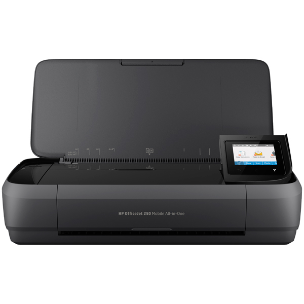Струйное МФУ HP OfficeJet 252 Mobile All-in-One мфу hp deskjet 2130 all in one k7n77c