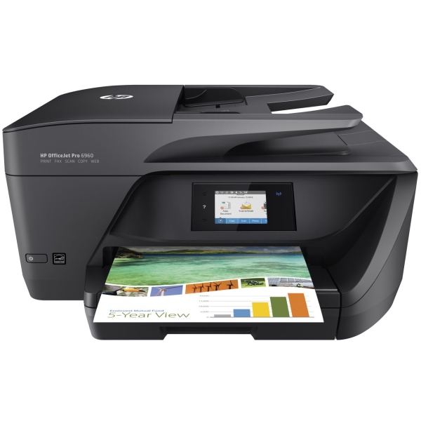 Струйное МФУ HP OfficeJet Pro 6960 All-in-One Printer мфу hp deskjet 2130 all in one k7n77c