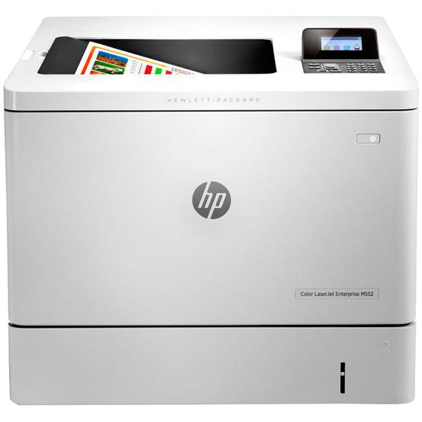 Лазерный принтер (цветной) HP Color LaserJet Enterprise M552dn принтер hp color laserjet enterprise m552dn b5l23a