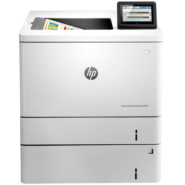 Лазерный принтер (цветной) HP Color LaserJet Enterprise M553x принтер hp color laserjet enterprise m553x лазерный цвет белый [b5l26a]