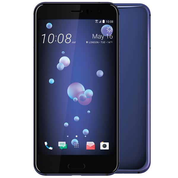 Смартфон HTC U11 64Gb Sapphire Blue смартфон htc u11 128 гб черный 99hamb123 00
