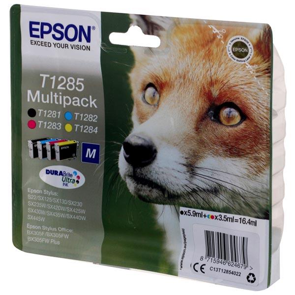 Картридж для струйного принтера Epson C13T12854022 MultiPack (B,C,M,Y)