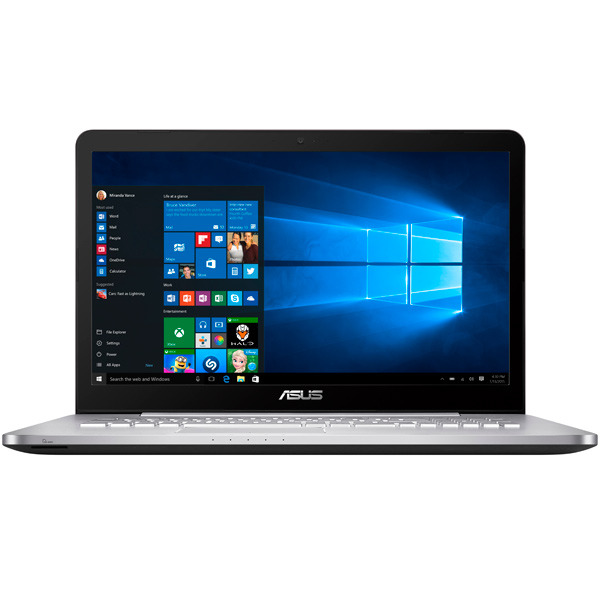 Ноутбук ASUS N752VX-GC261T ноутбук asus n752vx
