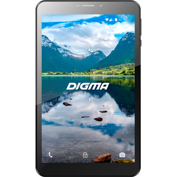 Планшет Digma Optima 8100R 8 8Gb LTE Black + Navitel(TS8104ML) планшет digma optima 10 4 3g 8gb tt1004pg