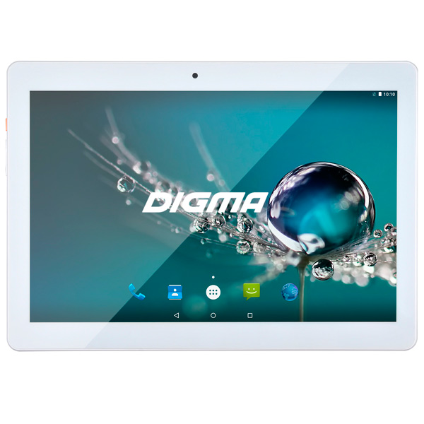 Планшет Digma Plane 1505 10.1 8Gb 3G White + Navitel(PS1083MG) планшет digma plane 1501m 3g 342978