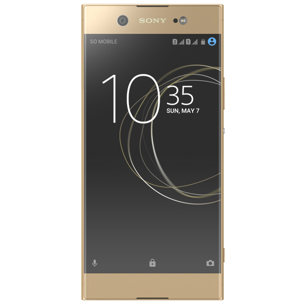 Смартфон Sony Xperia XA1 Ultra Dual Gold (G3212) c10 ear hook gsm phone w 0 7 screen dual band bluetooth v3 0 and fm red black
