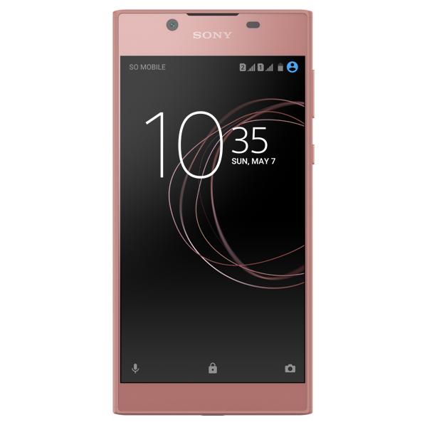 Смартфон Sony Xperia L1 Dual Pink (G3312) sony xperia tipo dual купить в спб